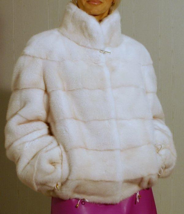 Куртка из меха норки ателье Галлафур