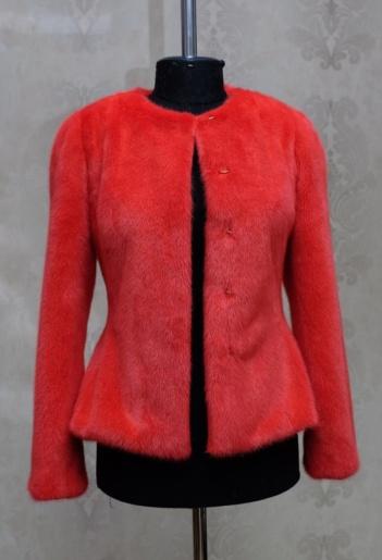 Куртка из меха норки фото