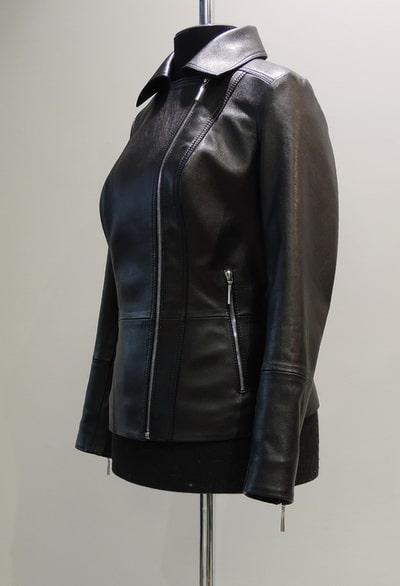 Куртка из кожи с молниями заказать
