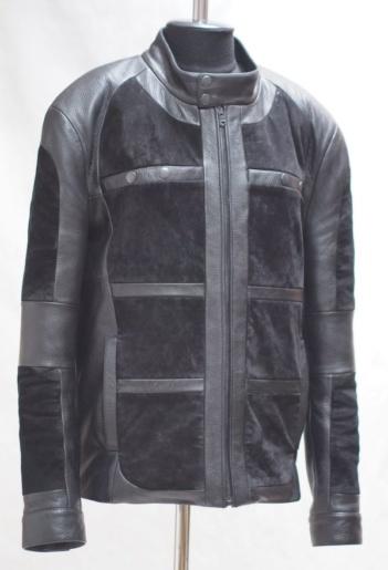 Куртка из натуральной кожи на фото
