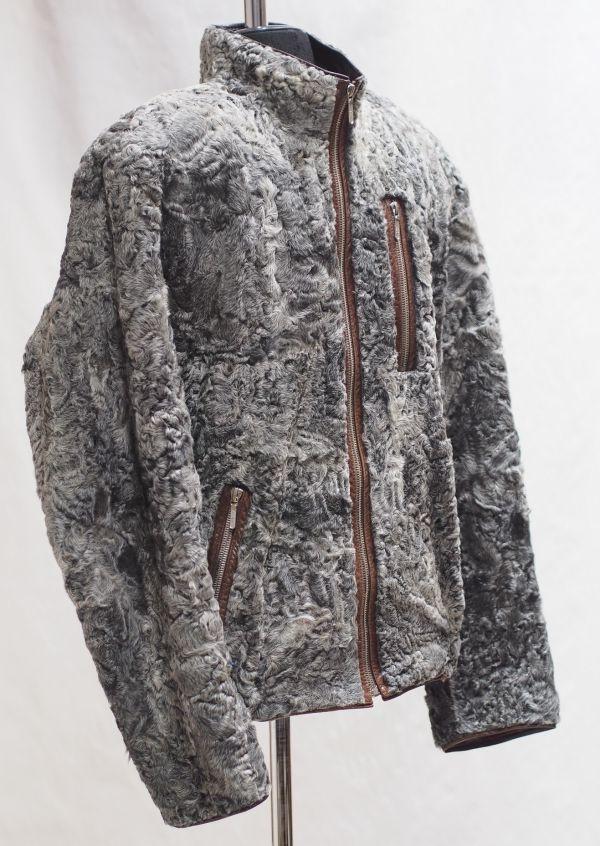 Куртка из меха каракуля фото