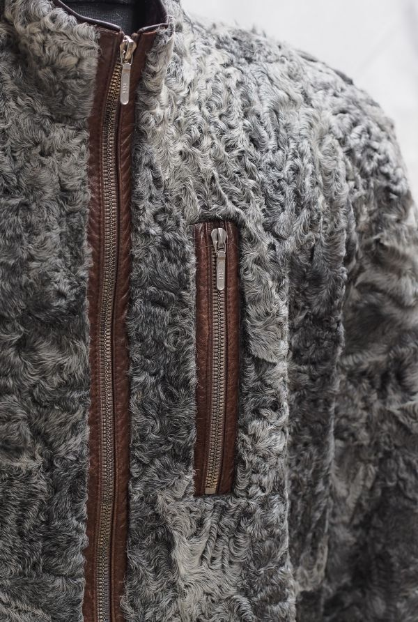 Куртка из меха каракуля заказать