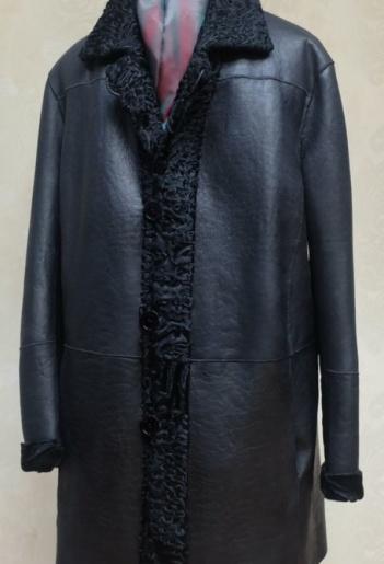 Пальто из каракуля мужское фото