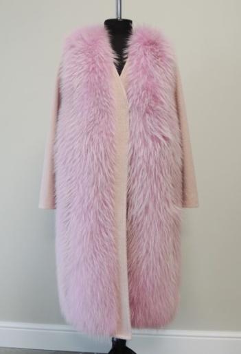 Пальто из кашемира фото