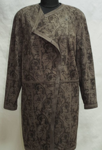 Пальто из замши заказать