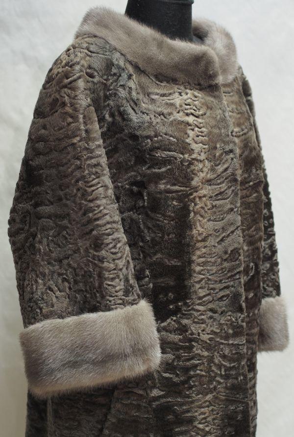 Каракулевая шуба с мехом норки ателье ГаллаФур