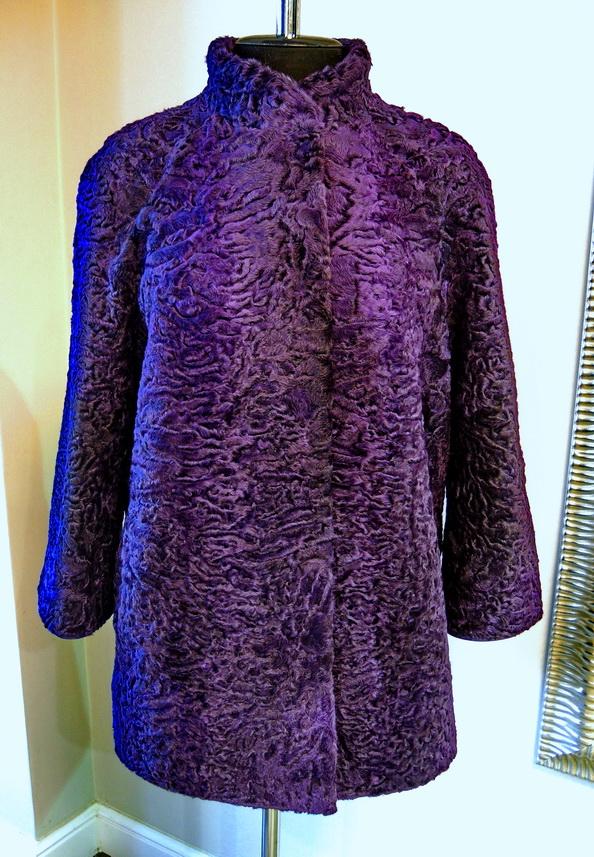 Пальто из каракуля на заказ